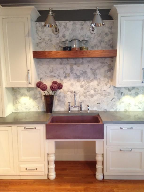 concrete farm sink and countertops by livingstone studios 3