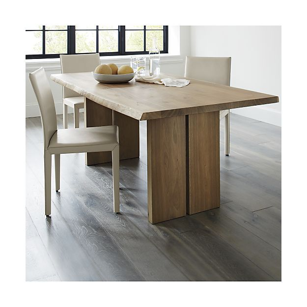 Dakota Dining Tables Crate And Barrel Leather Dining Chairs French Dining Chairs Dining