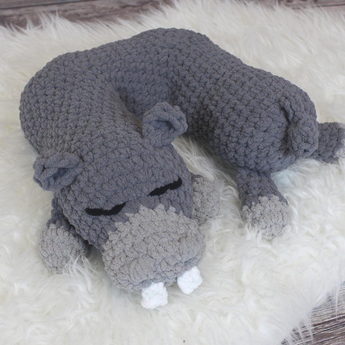 Travel Pillow: Hippopotamus Add-on | Pinterest | Crochet, Patterns ...