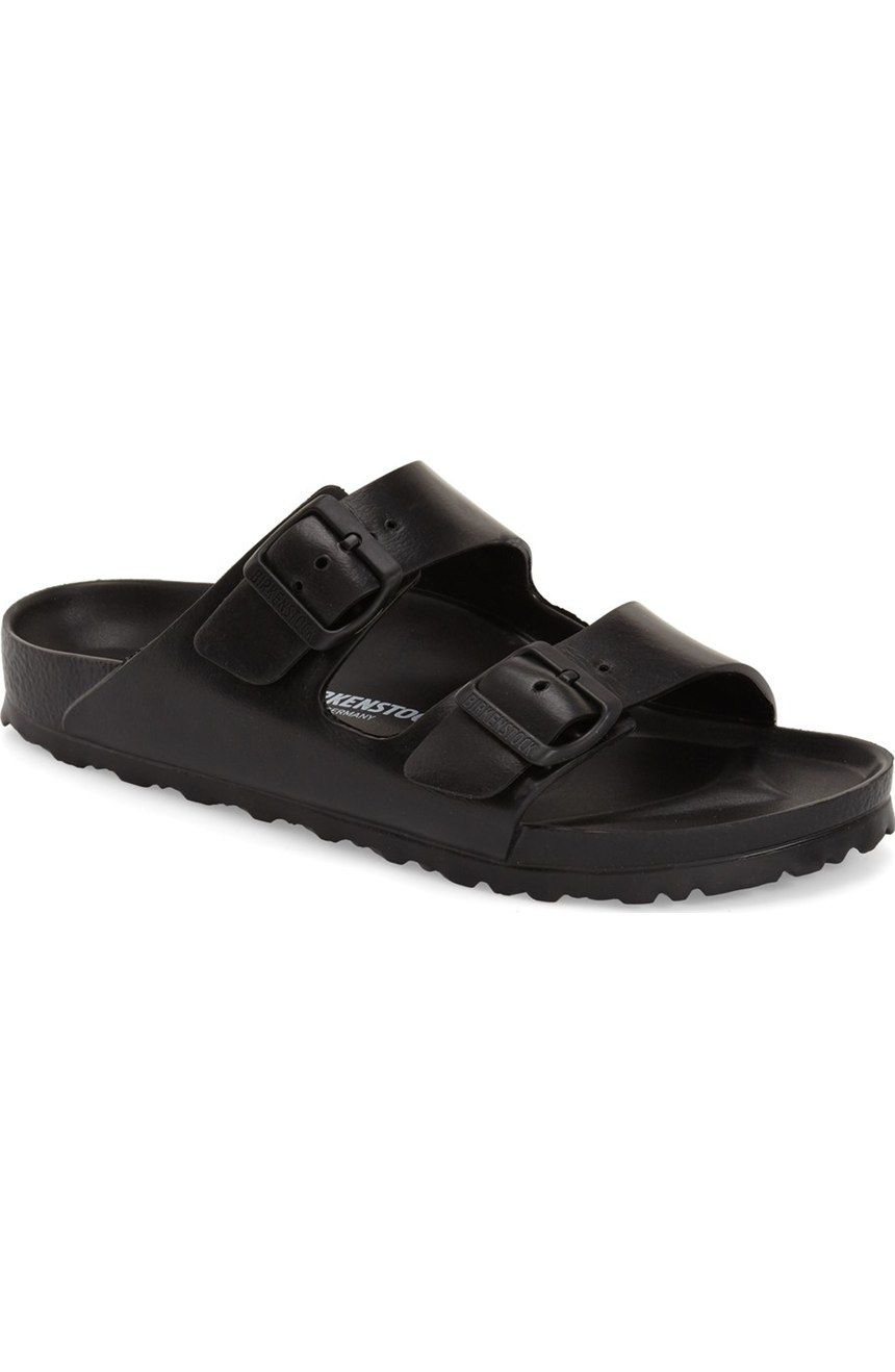 88c117780c93 Free shipping and returns on Birkenstock  Essentials - Arizona  Slide Sandal  (Women) (Nordstrom Exclusive) at Nordstrom.com. An iconic cushioned sandal  is ...