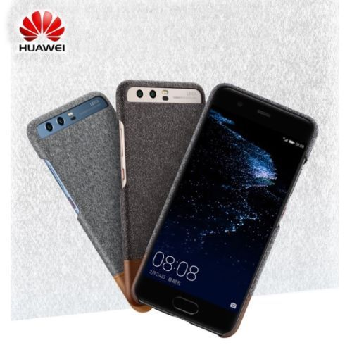 reputable site 6d022 7f5f6 Details about Huawei P10 P10 Plus Original Case Back Cover Mix Fiber ...