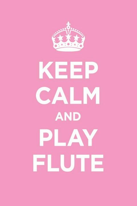 I've played the flute since I was about 5 years old. Music is a HUGE part of my life.