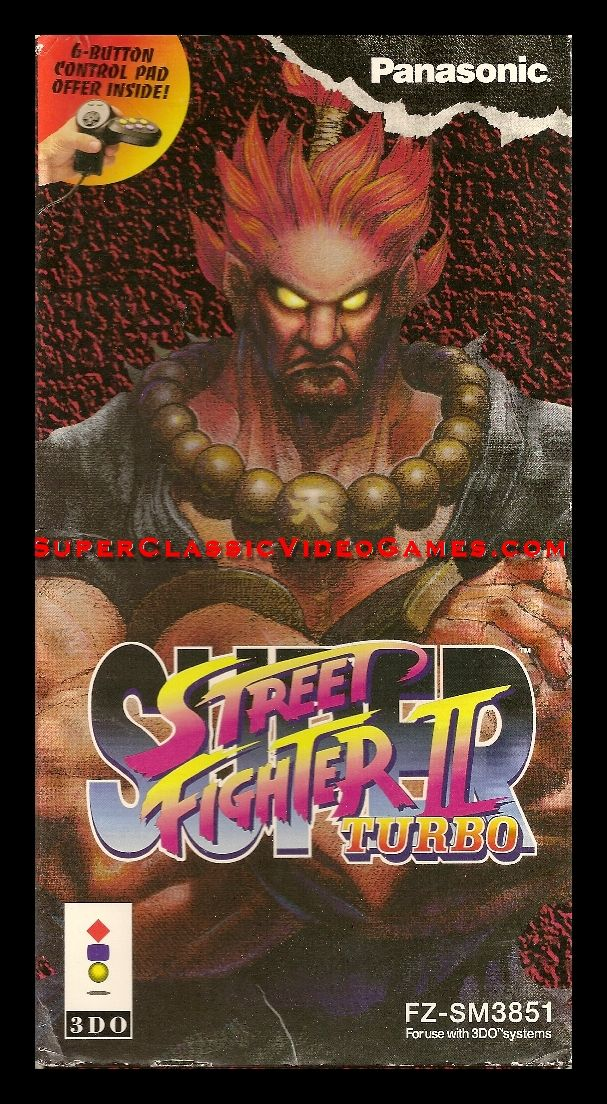 Super Street Fighter Ii Turbo 1994 Loved This Box Art As A Kid