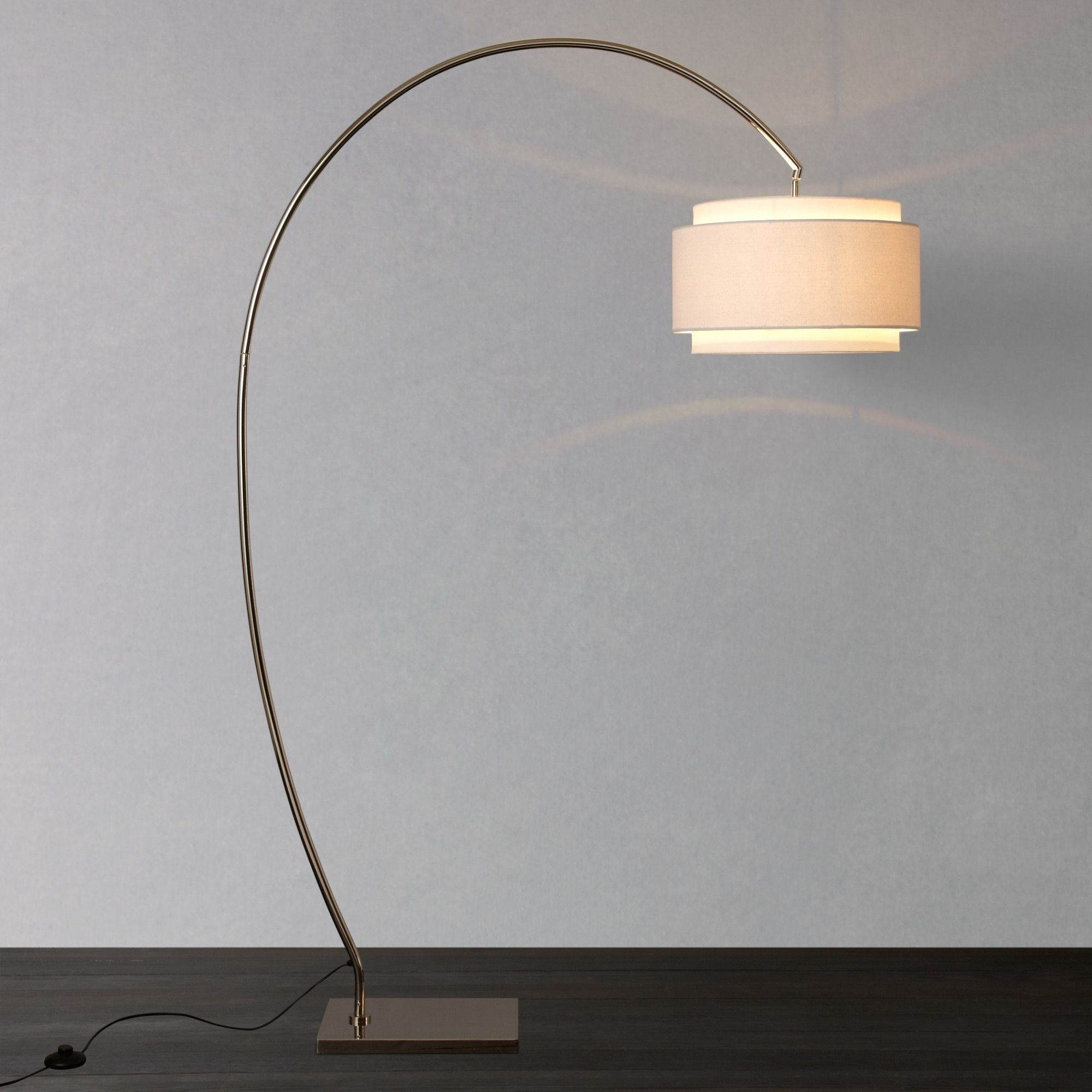 Evie curve floor lamp john lewis floor lamp and curves buy john lewis evie curve floor lamp online at johnlewis geotapseo Image collections