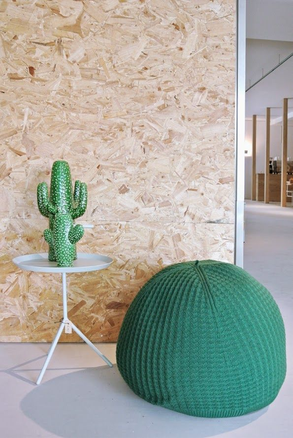 Osb Chipwood Cactus First Or Second Store Interior