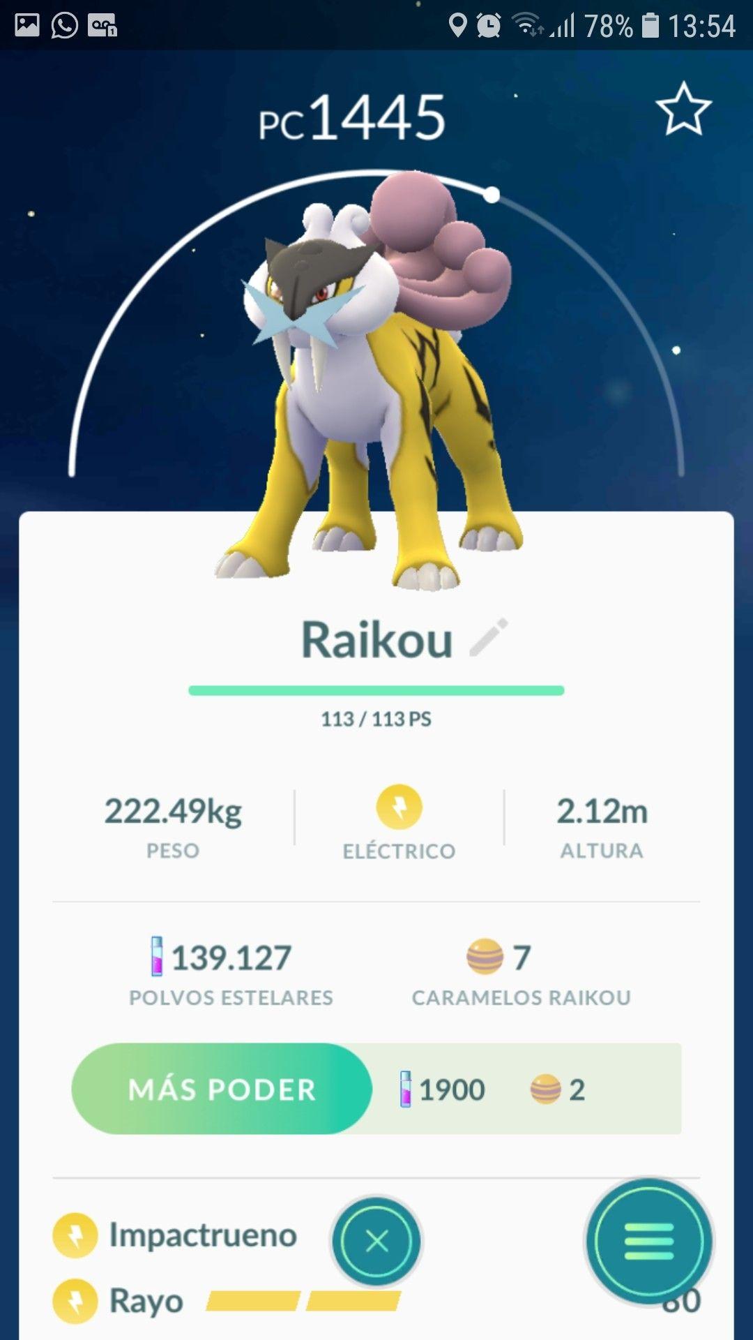Raikou Pokemon Go Pokemon Niantic Pokemon Go