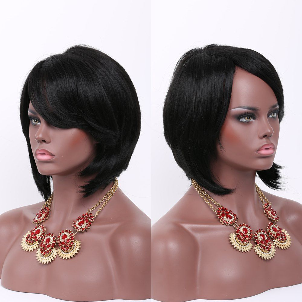 Buyed from android app Short side bangs, Wig hairstyles