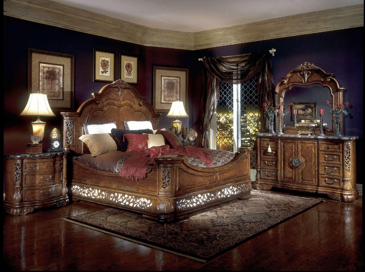 Exotic Bedroom Furniture - Rustic Modern Furniture Check more at ...