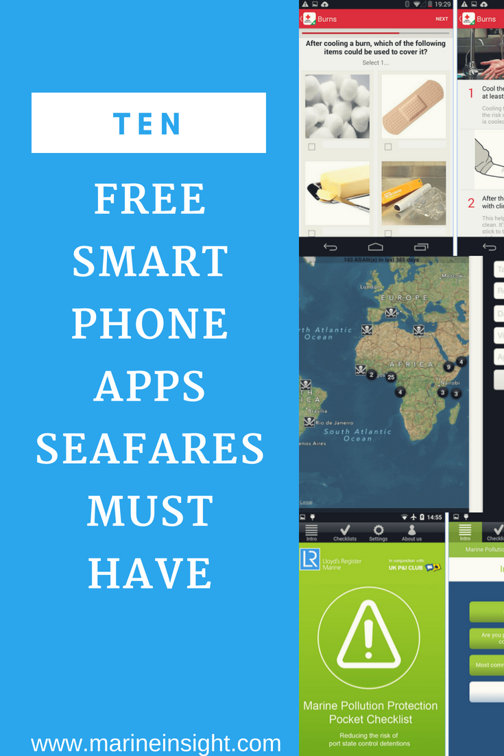 10 More Free Smartphone Apps Seafarers Must Have In 2020