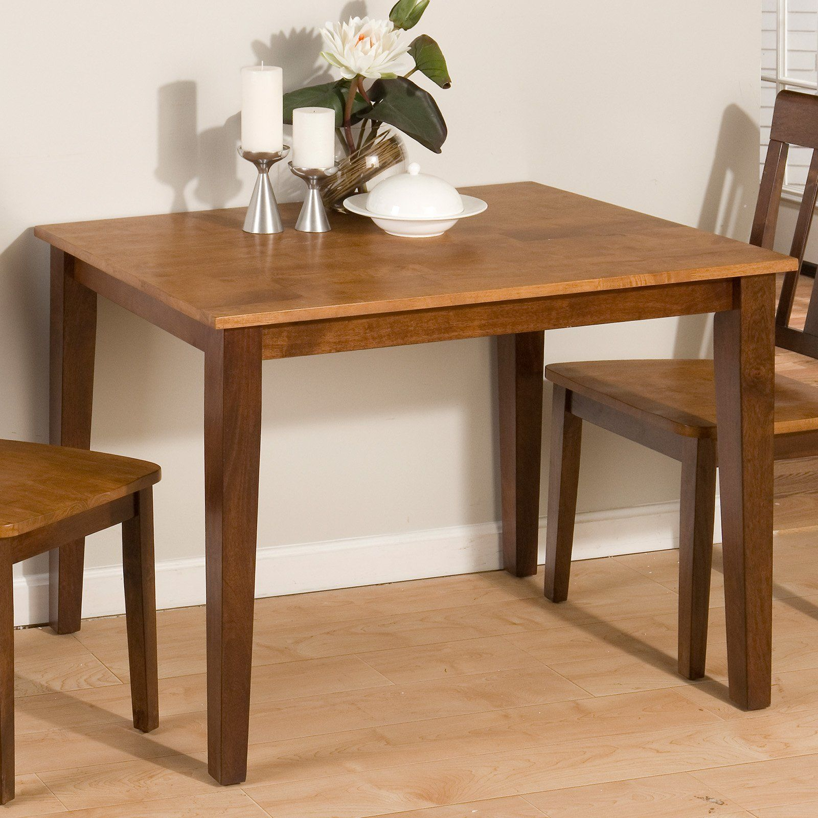 Have to have it. Jofran Kura Canyon Small Rectangular Dining Table - $191.95 @hayneedle.com Dimensions: 42L x 30W x 30H inches