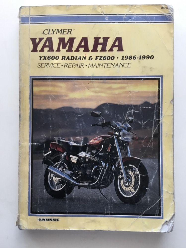 Yamaha Yx600 Radian And Fz600 1986 1990 Repair Manual Repair Manuals Yamaha Repair