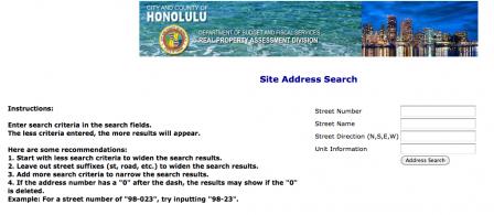ハワイ不動産 固定資産税のお支払時期 ハワイ不動産ブログ By Megumi Fujioka Address Search Fujioka Blog