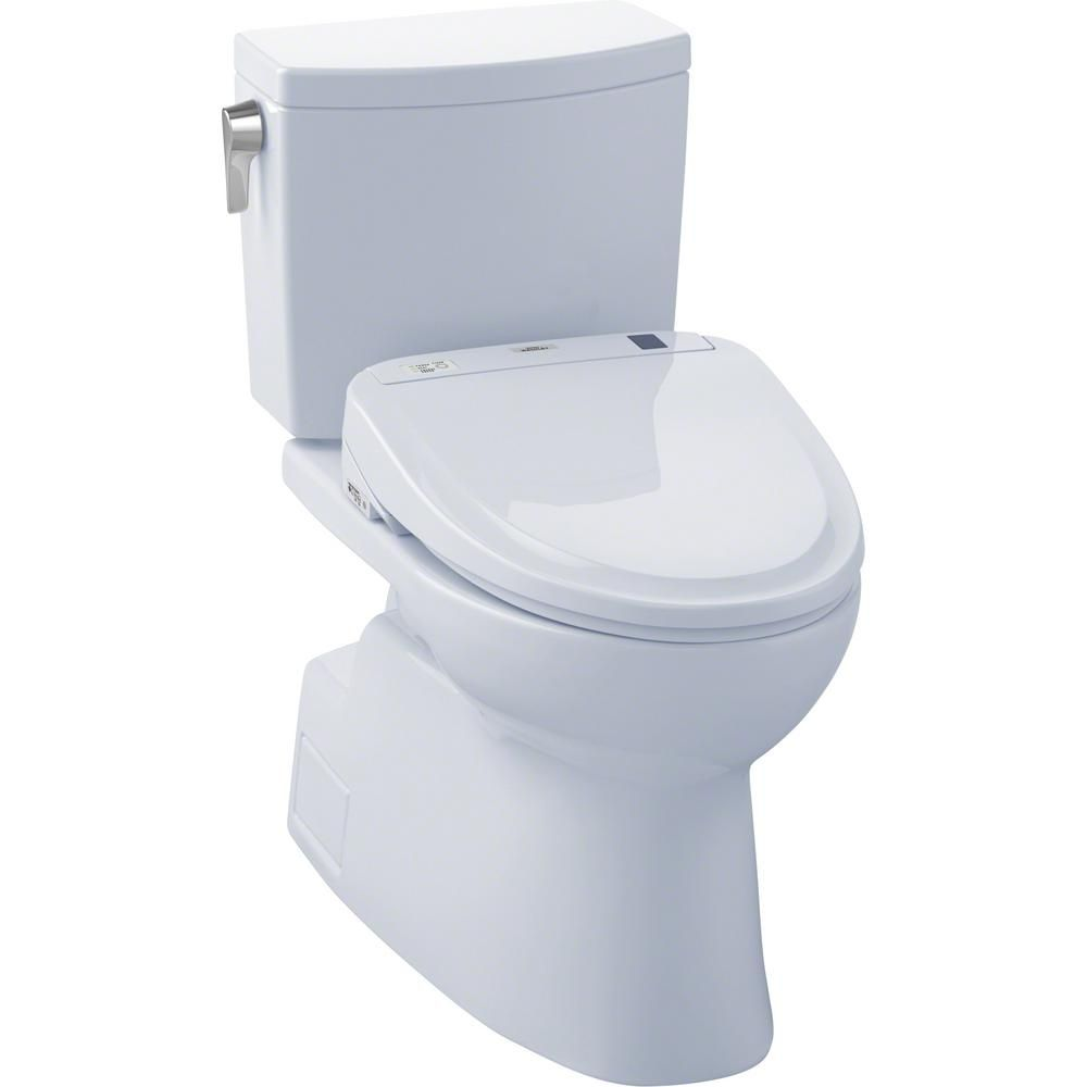 Toto Vespin Ii Connect 2 Piece 1 0 Gpf Elongated Toilet With