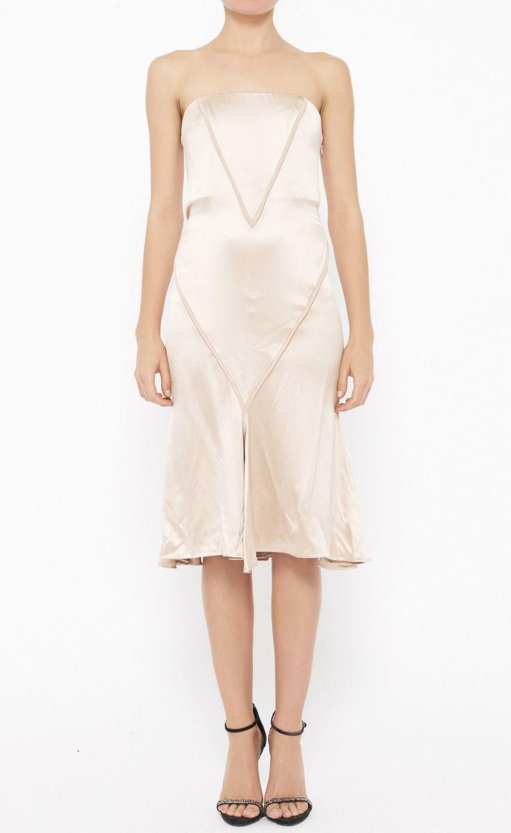J. Mendel Blush Dress   VAUNTE