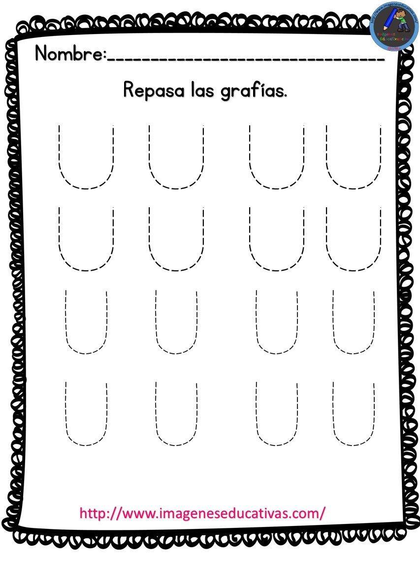 Completo Cuaderno Para Repasar Las Vocales Mas De 50 Fichas Con