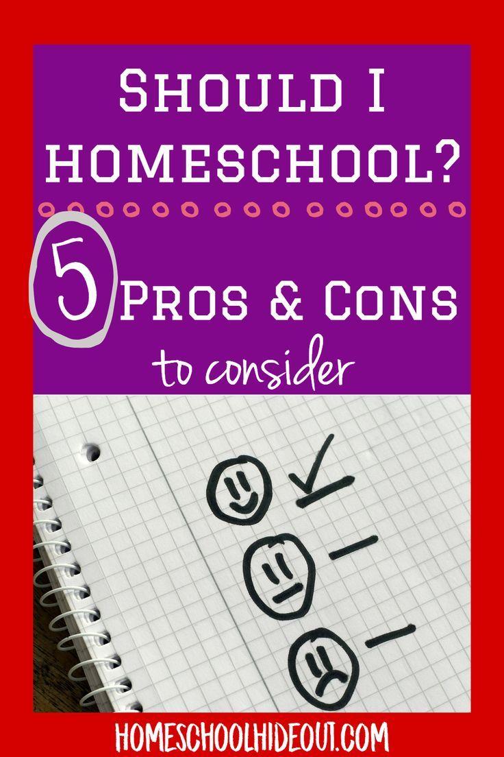Top 5 Pros and Cons of Homeschooling Homeschool