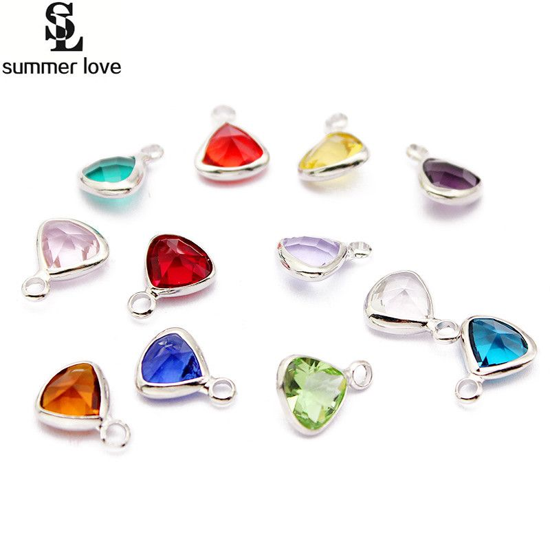 19+ Birthstone charms for jewelry making ideas