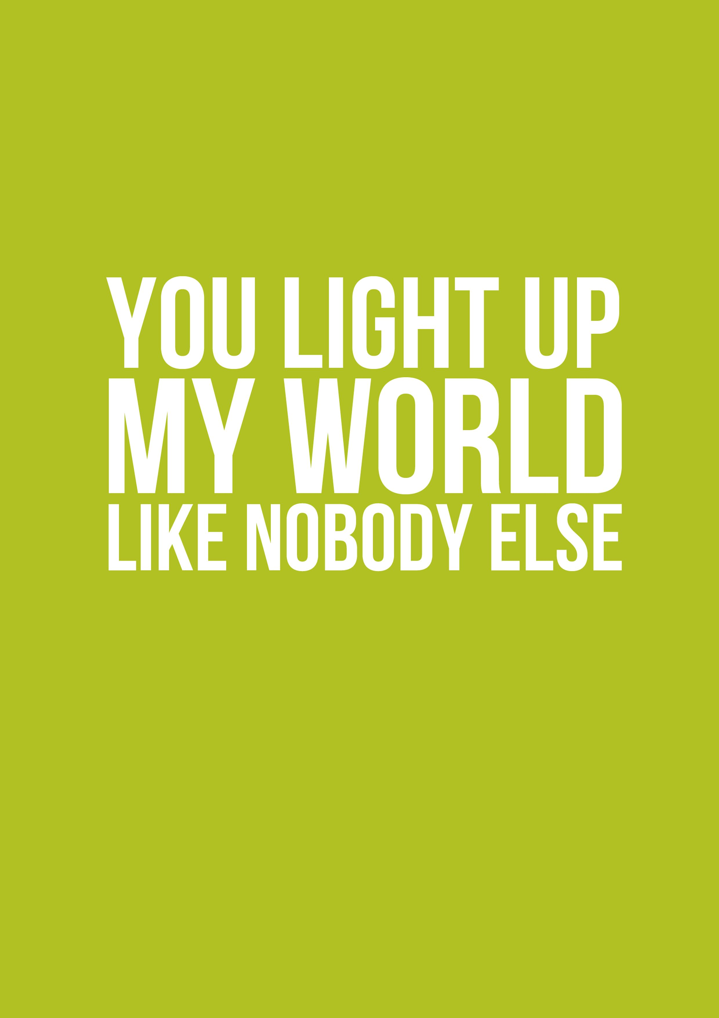 Light Up Your World Like Nobody Else : light, world, nobody, Direction, Lyrics,, Songs,