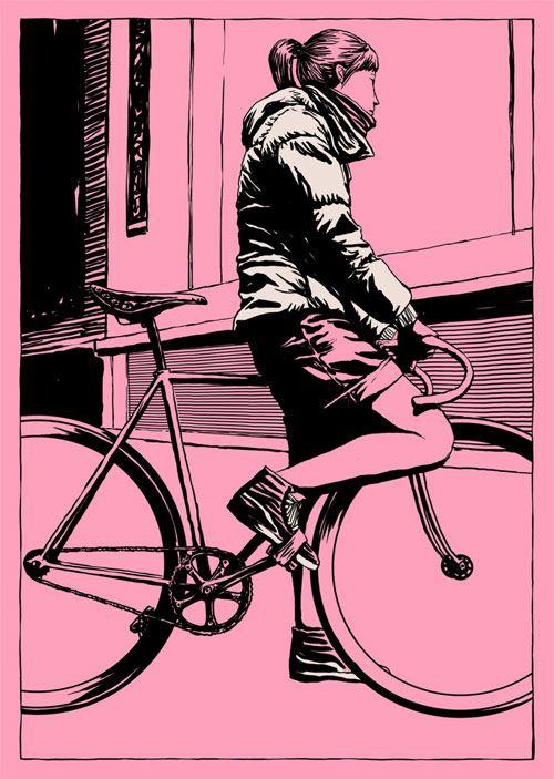 Adams Carvalho y sus chicas alternativas ilustradas - Antidepresivo : Antidepresivo