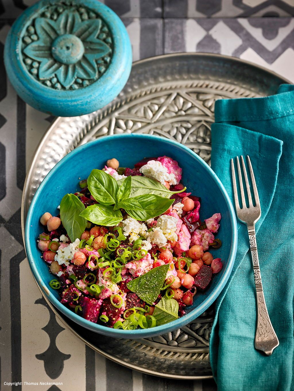 Photo of Beetroot Chickpea Salad from ickeausheidelberg | Chef