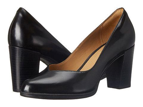 Womens Shoes Clarks Kadri Leah Black Leather