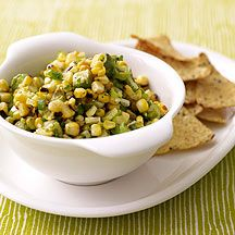 weight watchers grilled corn and avocado salsa