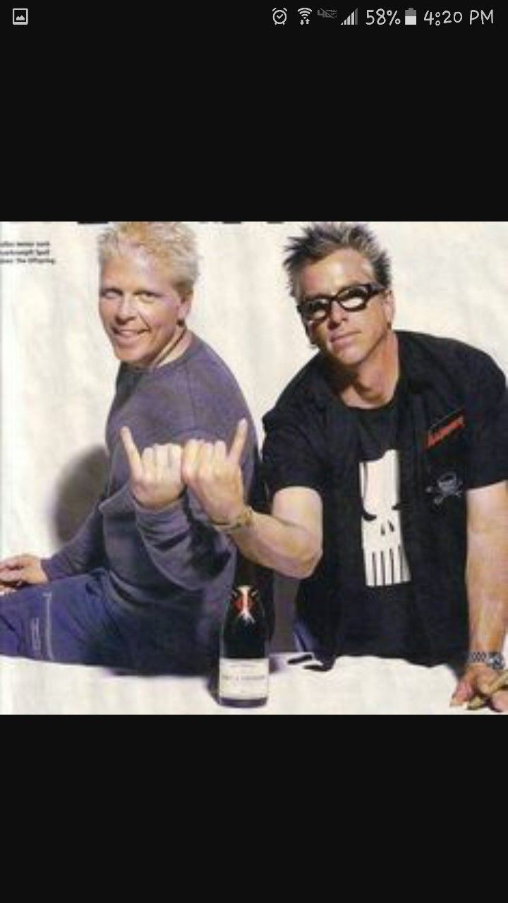 Dexter And Noodles Dexter Holland Rock Music Music Bands