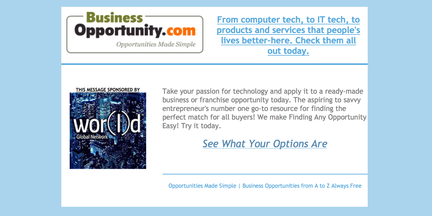 Tech Thursday: http://www.businessopportunity.com #techthursday
