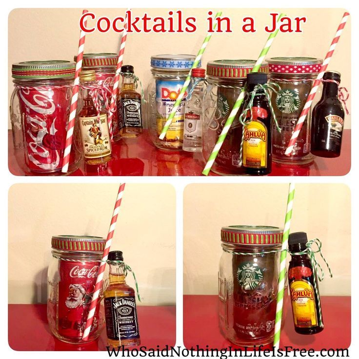 Christmas cocktail gift Christmas Ideas Pinterest Christmas