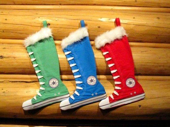 Converse All Star Chuck Taylor Stockings... cute! | Holidays ...