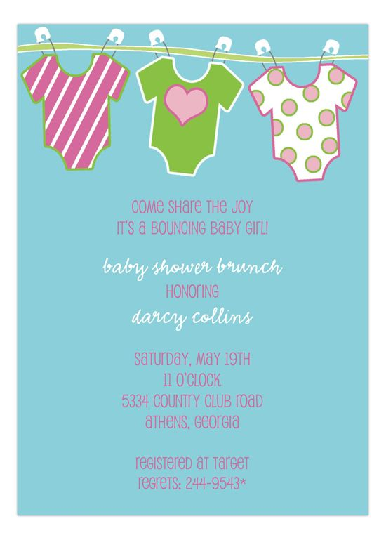 Onesies Baby Shower Invitations For S At Polka Dot Design