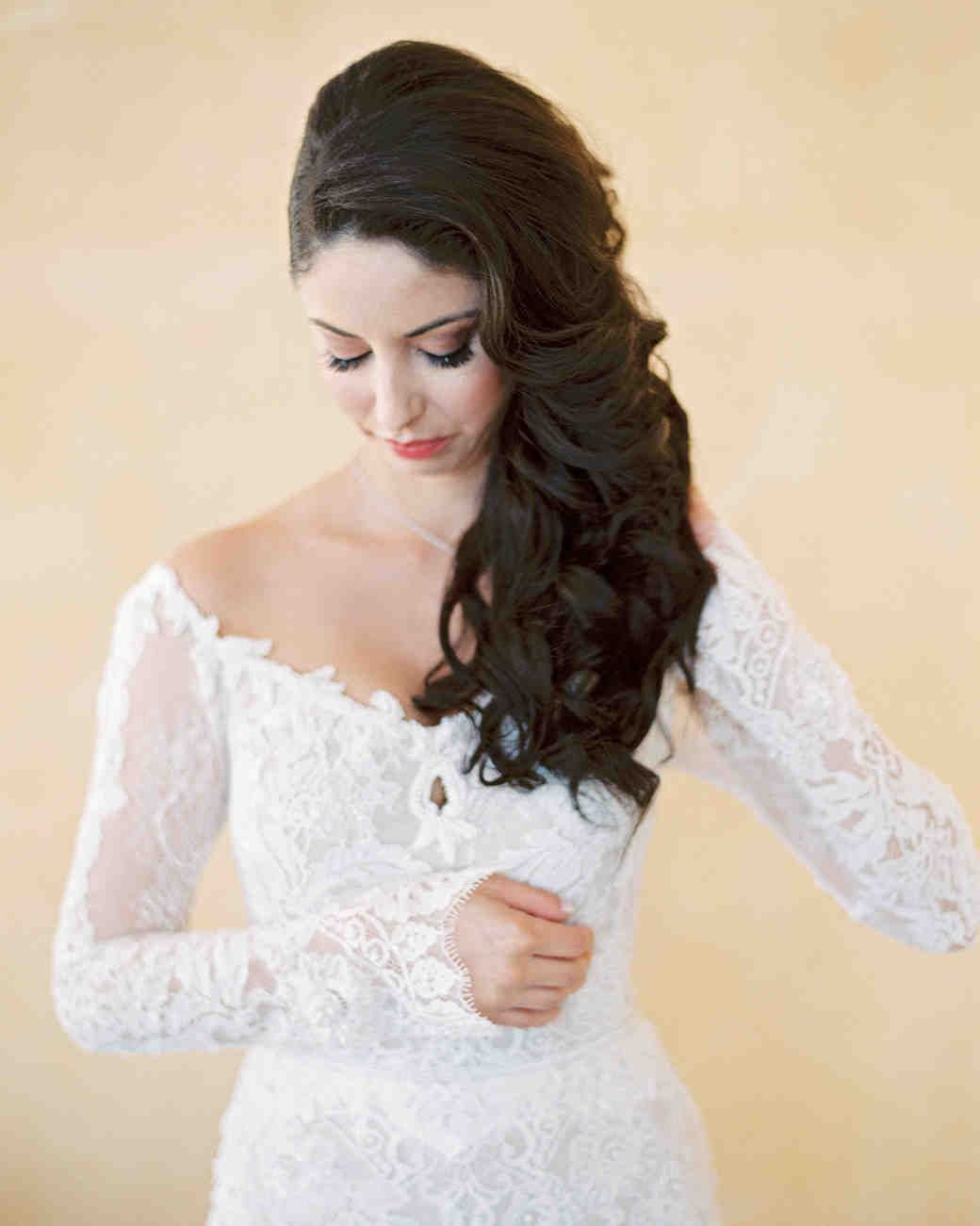 The Best Hairstyles For Every Wedding Dress Neckline Hairstyles For Gowns Wedding Dress Necklines Necklines For Dresses