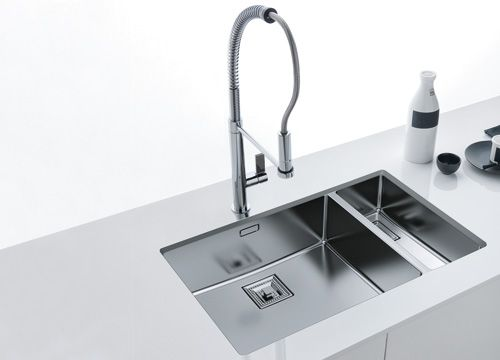 franke inox bassin sous plan viers sink kitchen et home. Black Bedroom Furniture Sets. Home Design Ideas