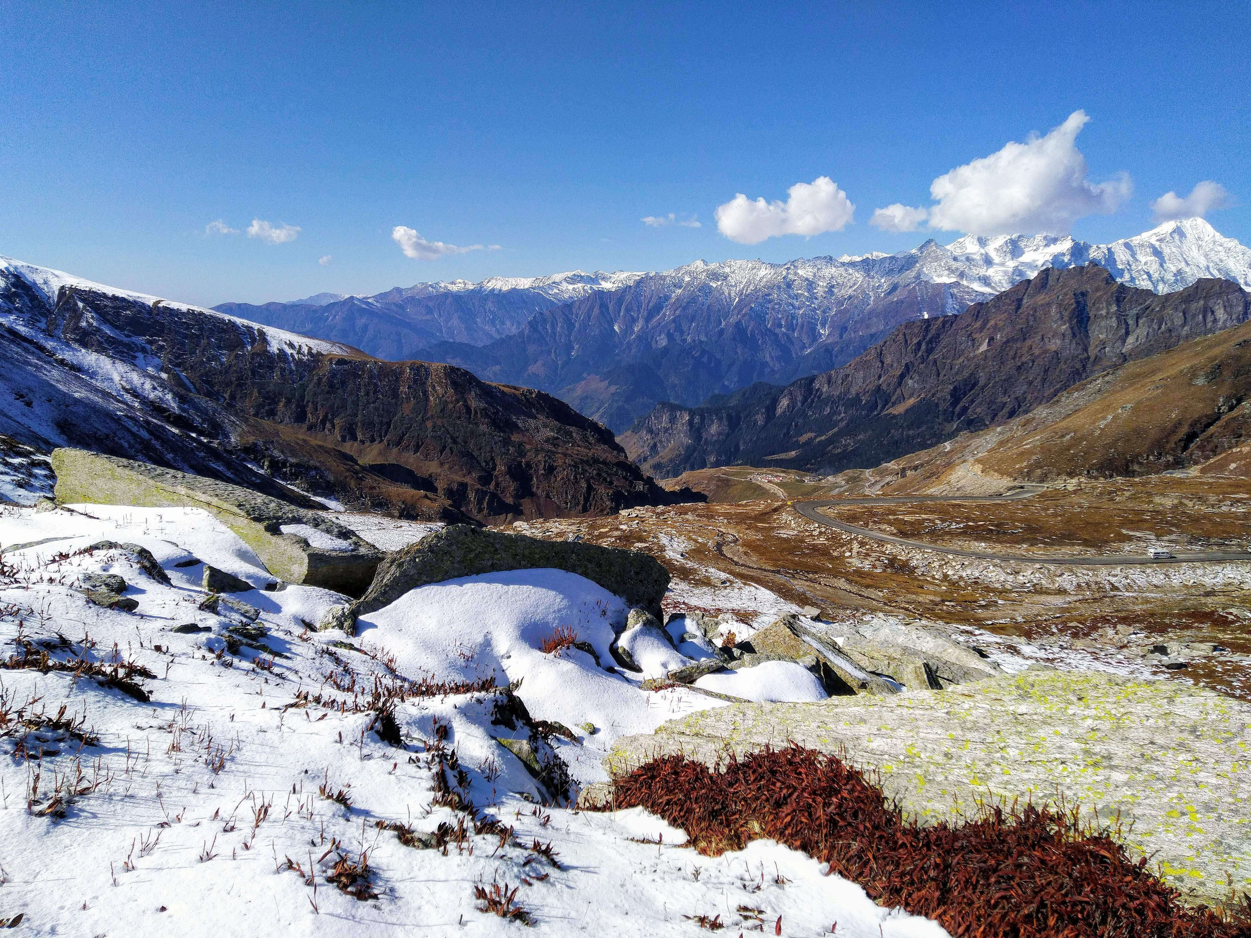 ITAP of Rohtang Pass Himalayas#PHOTO #CAPTURE #NATURE #INCREDIBLE