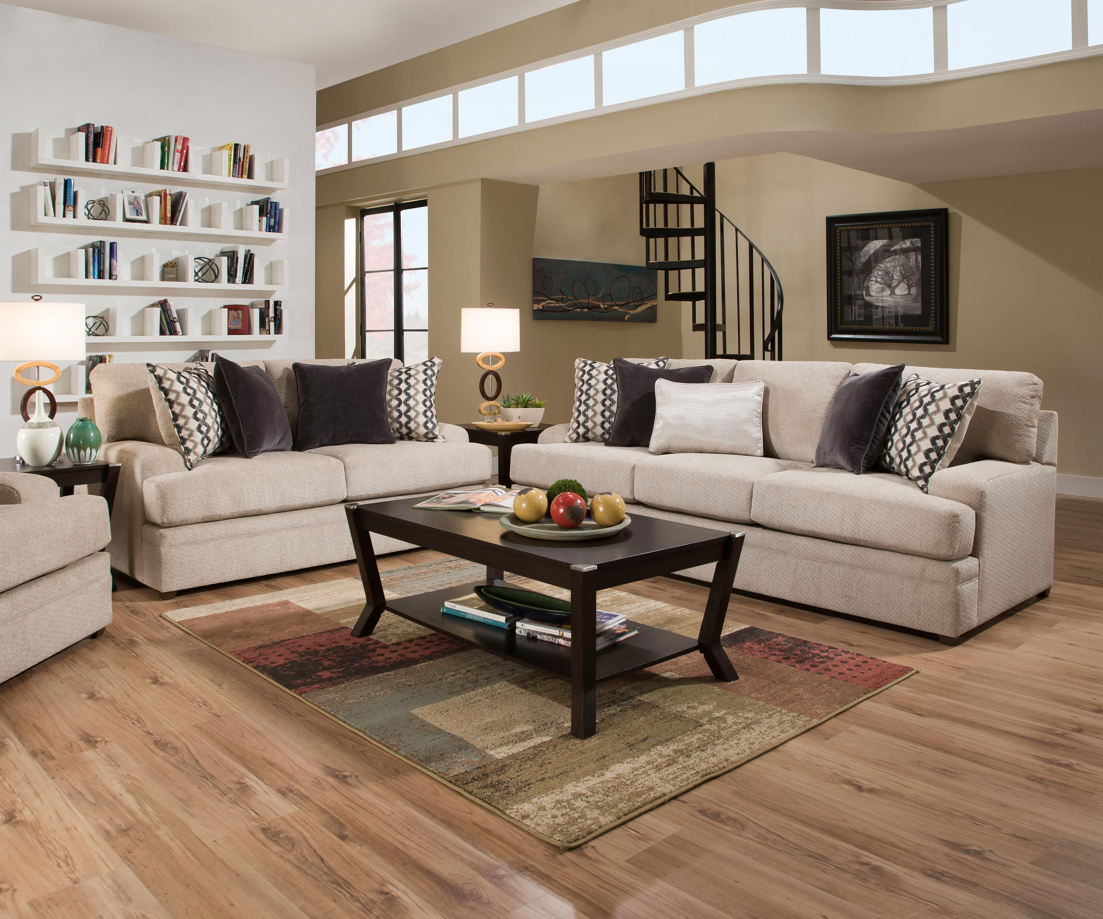 Best Weekly Or Monthly Silly Putty Beige Couch And Loveseat 400 x 300