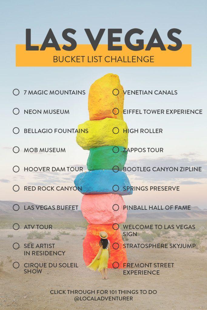The Ultimate Las Vegas Bucket List (101 Things to