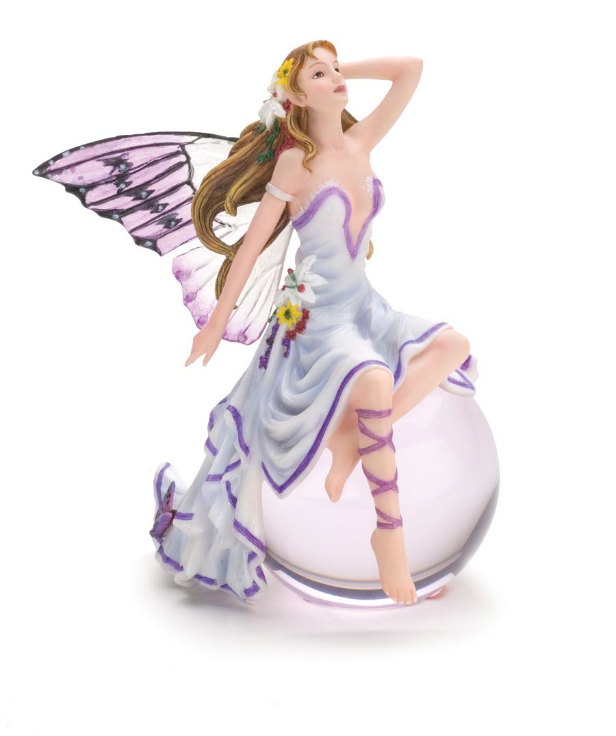 Faerie Statues Faerie Bubble Riders Inspired By Nene Thomas Rainbow Music Boxes