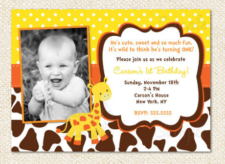 giraffe birthday invitations giraffe birthday birthdays and
