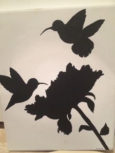 Hummingbirds, Silhouette and Clip art on Pinterest