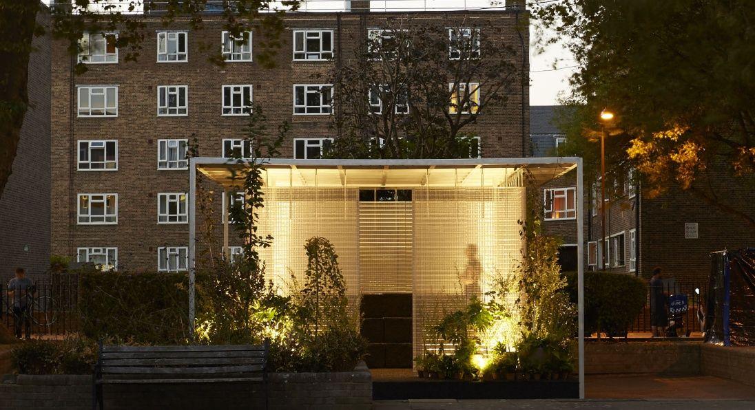 MINI LIVING \u0027Forests\u0027 Installation by Asif Khan  LONDON DESIGN