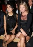 Kate Moss is 38 Salma Hayek is 46!  Can't get more gorgeous than that!
