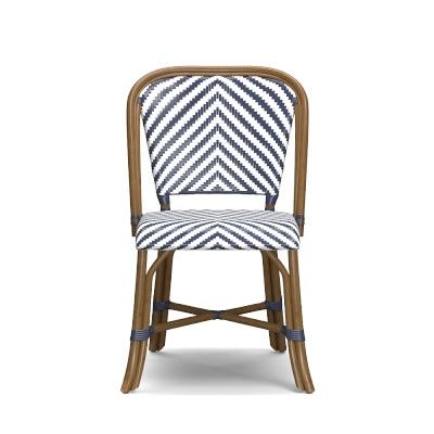 Parisian Bistro Woven Side Chair #williamssonoma