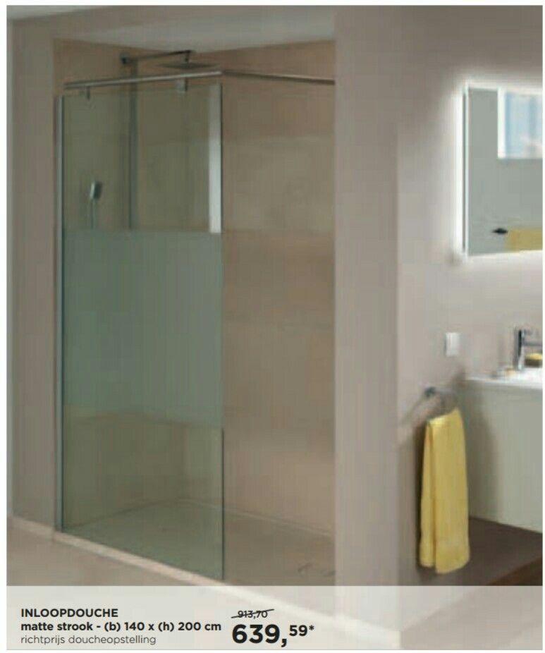Douche zonder deur | Badkamer | Pinterest