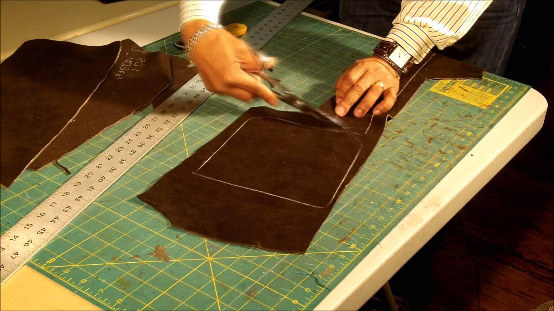 d524244d3ef7 How To Make a Leather Messenger Bag Part 2 of 7