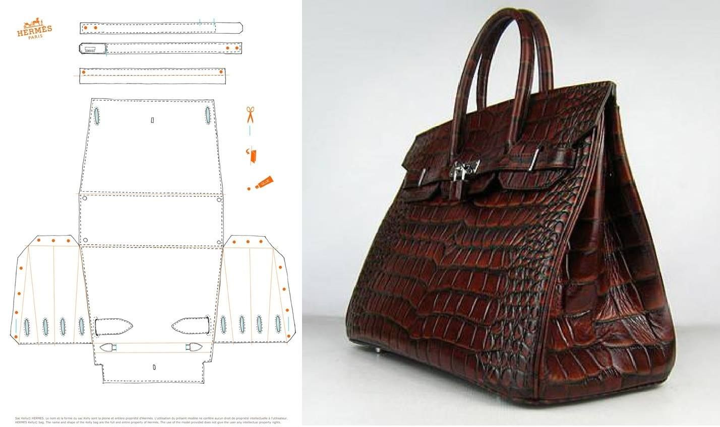 photo only for Hermes bag. Believe this was for a paper version but ...
