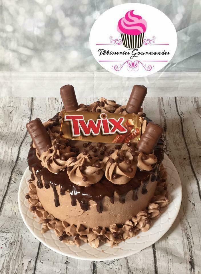 Layer Cake Twix Layer Cake In 2018 Pinterest Cake