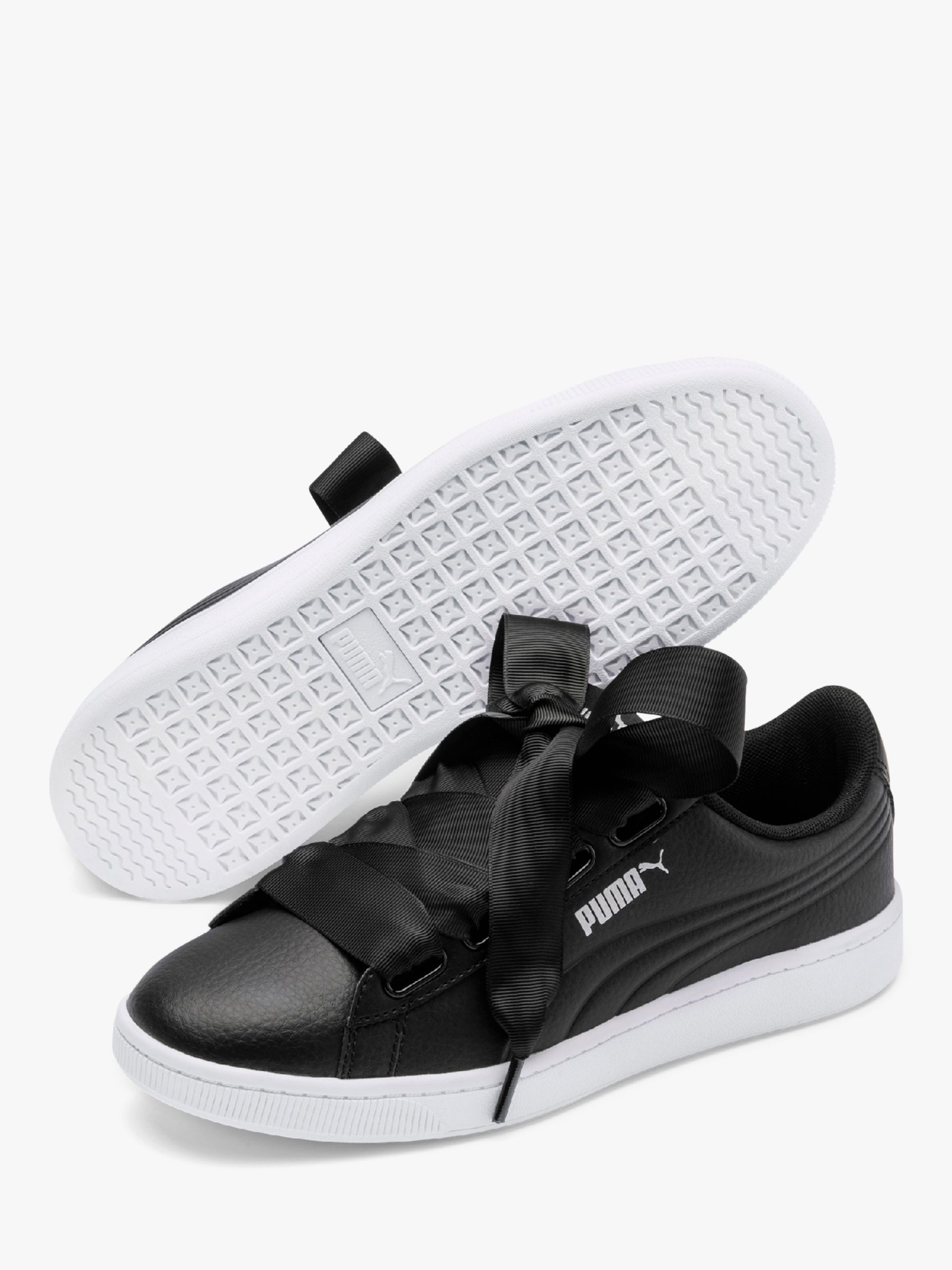 PUMA Vikky Ribbon Patent Women's Sneakers Color Puma White