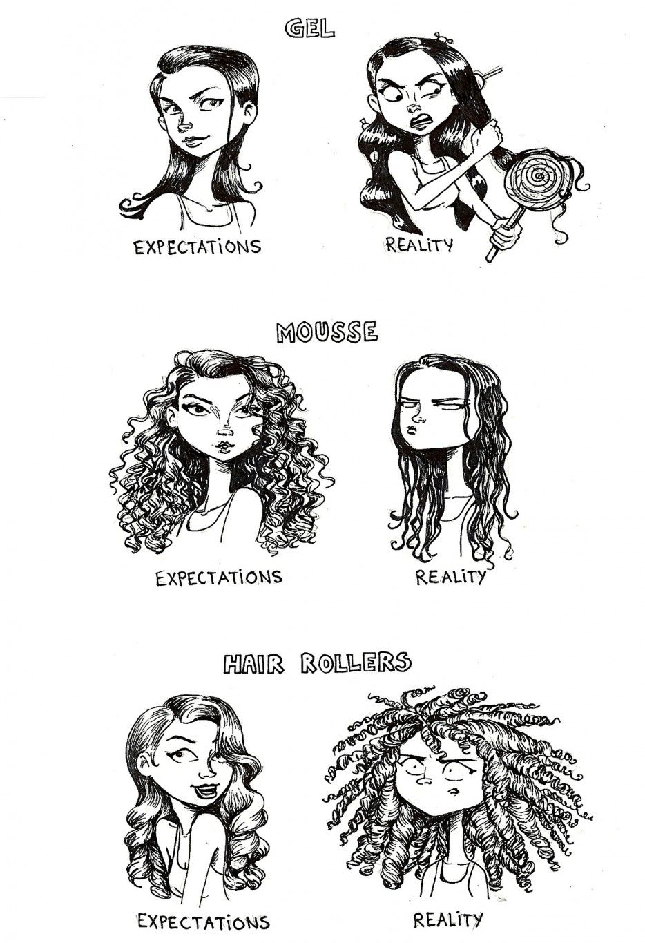 The Reality Of Hair Products Is Much Different Than Their Promises
