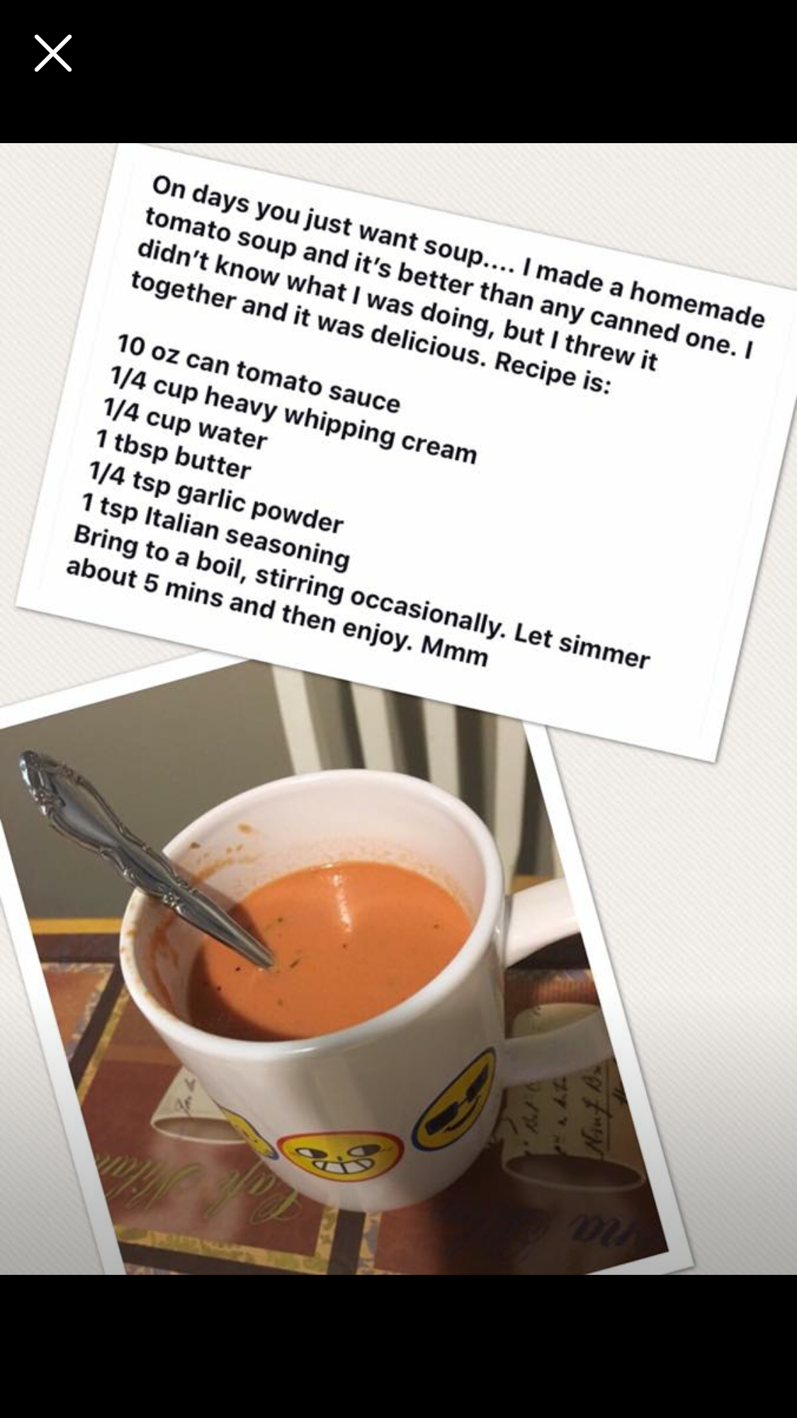 tomato soup on low carb diet