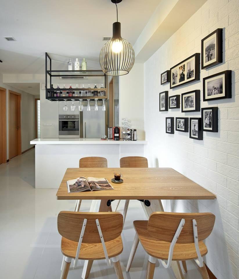 woodleigh, contemporary condominium interior design, kitchen